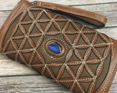 Hand made Leather Wallet,...