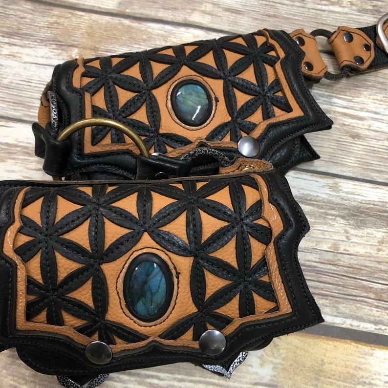 festival belt pocket belt featival bag utility belt sacred image 0