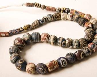Ancient Islamic period mixed beads