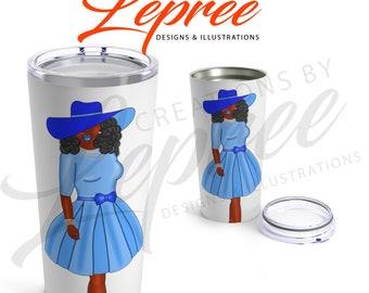 Tumbler: Diva Kentucky (baby blue)