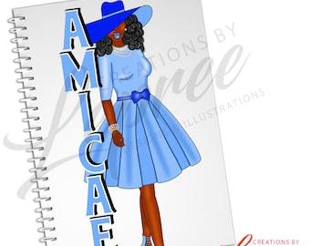 Full Size Notebook: Zeta Amicae