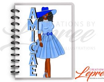 Diva Kentucky Zeta Amicae Planner Dashboard, Divider
