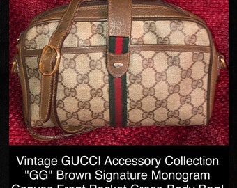 711415a7c Vintage GUCCI Accessory Collection