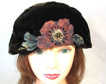 d10f29e427443 Dark brown beret
