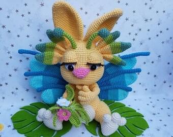 Hand crocheted flora