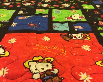 Hello kitty quilt