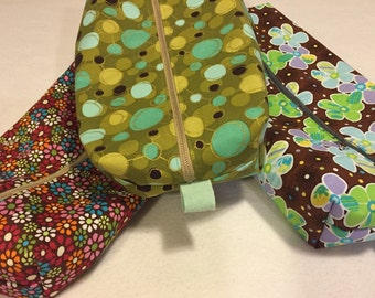 Toiletry Bag: Tinkerbelle, Child's Nautical, Floral, or Geometric
