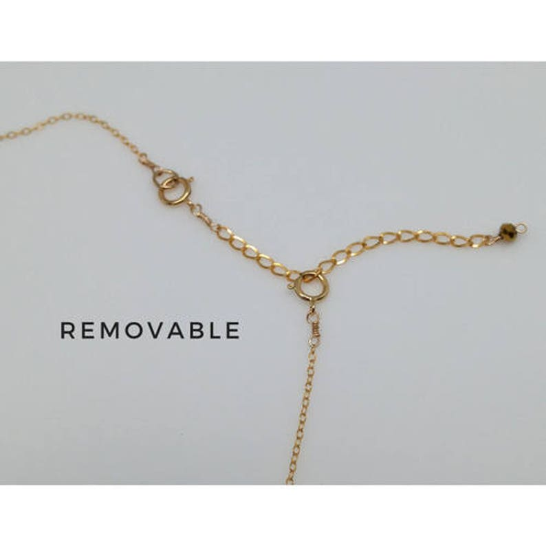 Extension chain Necklace extender Sterling silver Necklace extension chain 14 k gold fill NS96 Extender chain