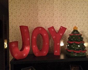 Joy Letters / Christmas Decor