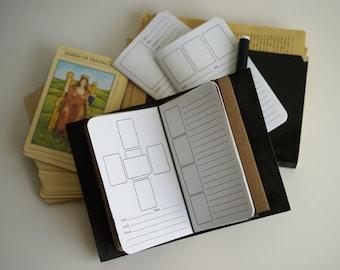 Journal Refill/Insert: Mystic Esoteric Divination, Tarot Journal, Rune Divination, Cartomancy