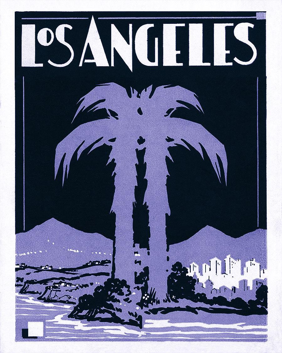 Hollywood Regency Los Angeles Art-Deco-Kunst lila Lavendel   Etsy