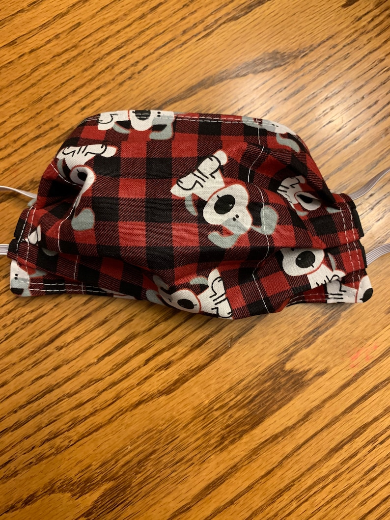 Child puppy mask fits age 4-10