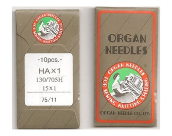 Size 11 Organ Sewing Machine Needles
