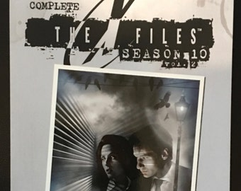 The X-Files Complete Season 10, Vol 2 TP *SIGNED