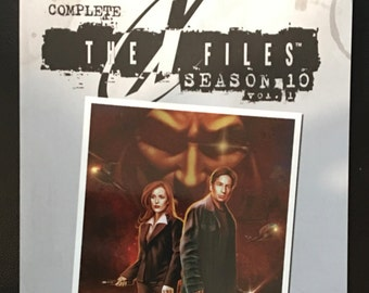The X-Files Complete Season 10, Vol 1 TP *SIGNED
