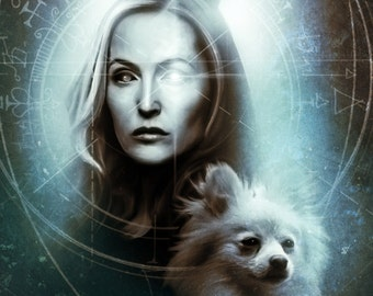 Scully & Queequeg Print S/N