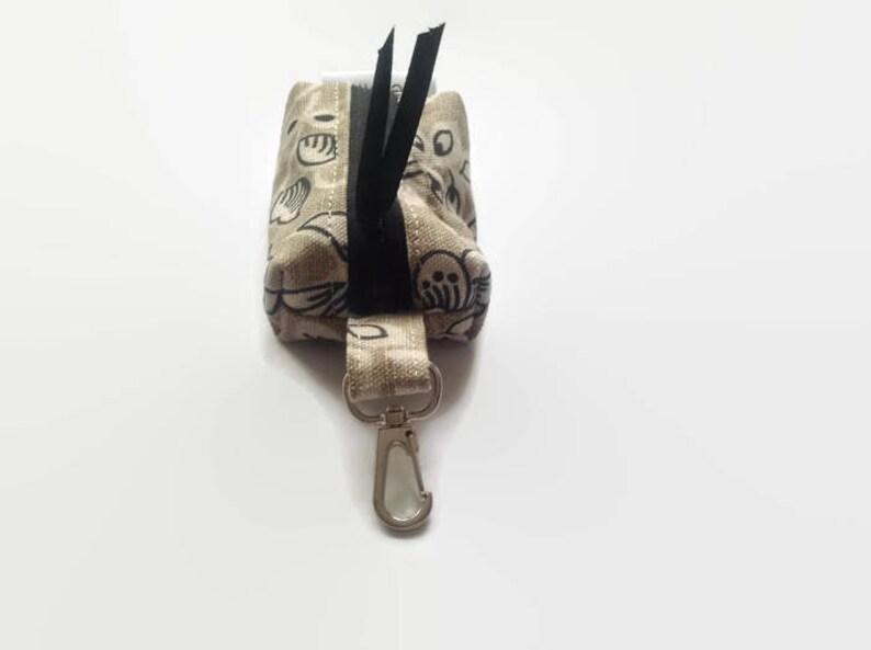 Boxy Pouch Coin Purse Zipper Pouch Key Pouch Earphone Holder