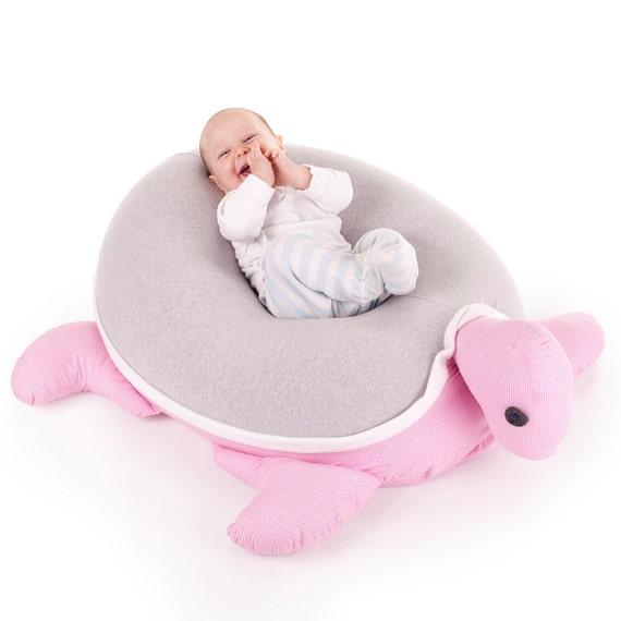 Excellent Baby Girl Bean Bag Pillow Nursery Furniture Turtle Beanbag Grey White Pink Bean Bag Chair Kids Floor Pillow Bean Bag Cushion Nest Creativecarmelina Interior Chair Design Creativecarmelinacom