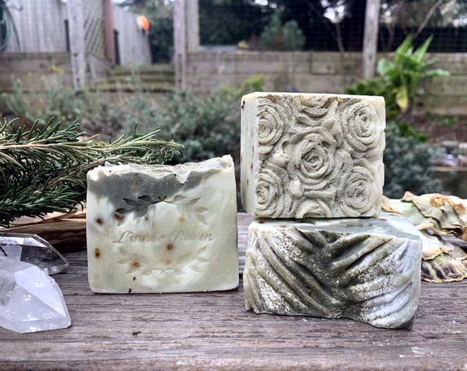 Rosemary + French Green Clay Soap
