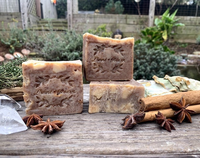 Cinnamon Mulled Wine Soap