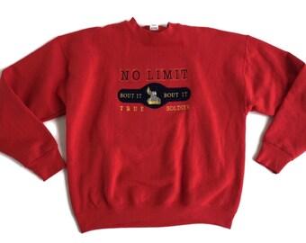 a9d4ccf5e4f1d Rare Vintage No Limit Records Crewneck Sweatshirt Bout It Bout It No Limit  True Soldier Master P Size XL