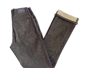 90 s Metallic Black GUESS Jeans size 25 X 30 a09577c1970ed