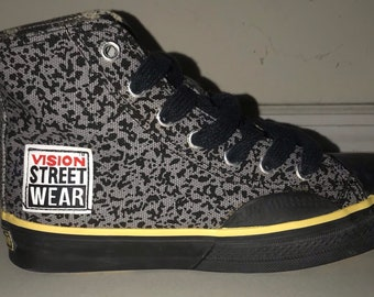 90s vision street skate hi top sneakers size youth 4 womens 5.5 0bd9194f7