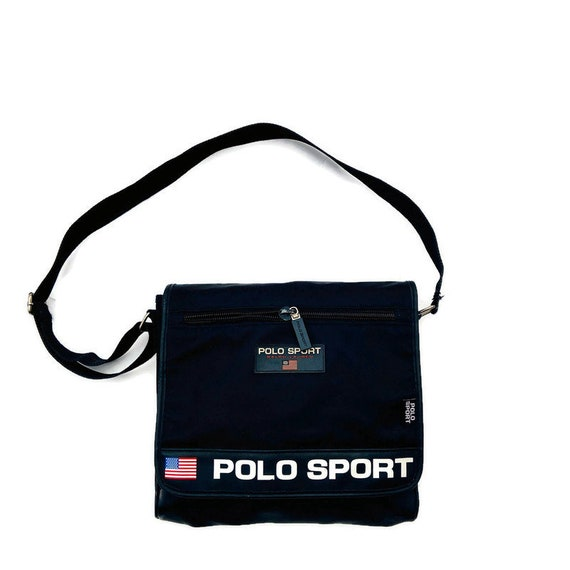 90's Polo Sport messenger bag Ralph Lauren Polo Sp