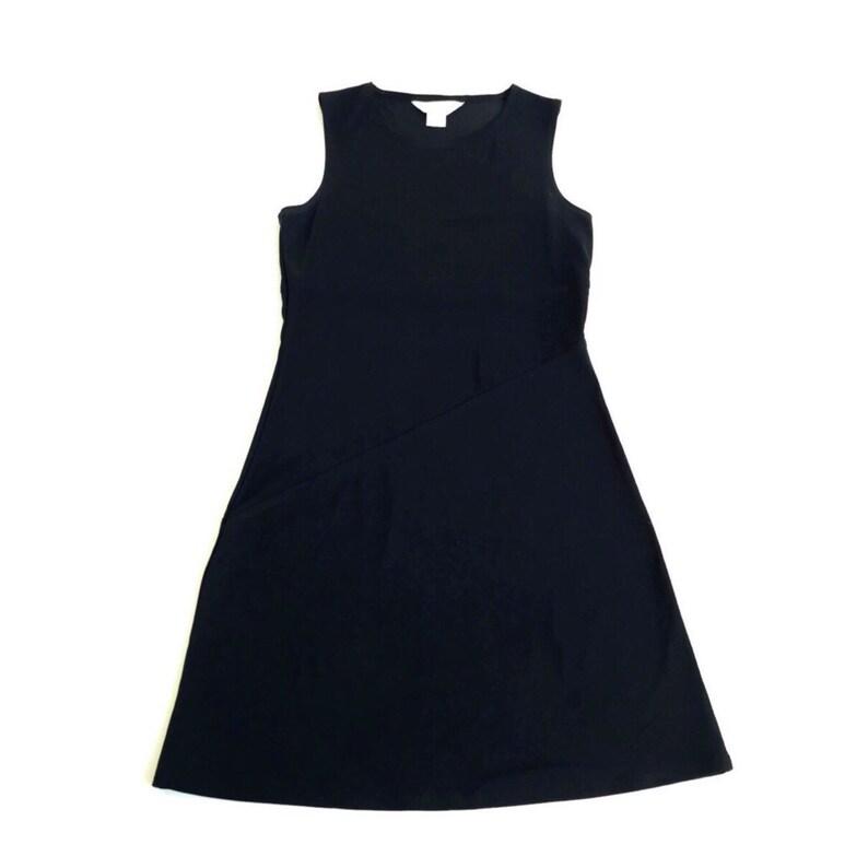90/'s Express Tricot Black Mini Dress