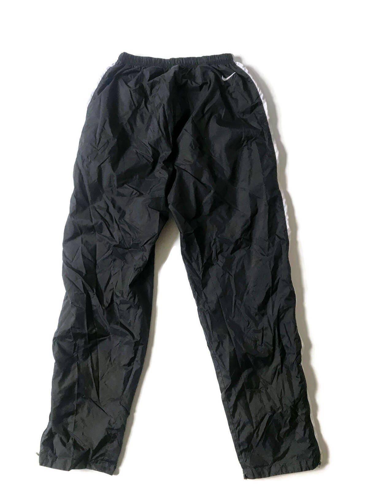 f088fe00124e3 Vintage Nike Reversible Sweatpants Windbreaker Pants Nylon Track Running  Womens M