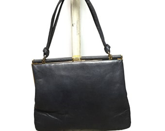 Jane Shilton, Black, Leather Purse Made in England