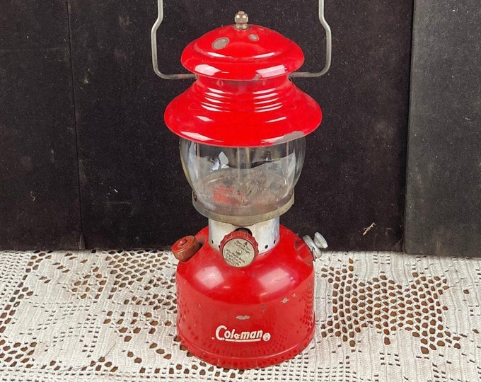Featured listing image: 1963 Red Coleman Camping Lantern Model 200