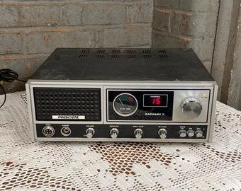 Vintage President Zachary T. CB Radio Base Station 40 Channel AM