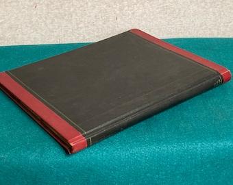 Vintage 1958 Ledger, National Blank Book Company, Accounting Ledger, Motel Ledger 1958