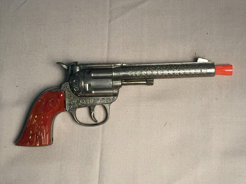 Hubley Rodeo Toy Cap Gun, 1950's, Toy Cowboy Gun, Cap Gun, Toy