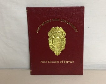 Fort Myers Fire Department 1993 Yearbook, 1901-1993 Nine Decades of Service, Florida, Fire Station History, Commemorative Fire