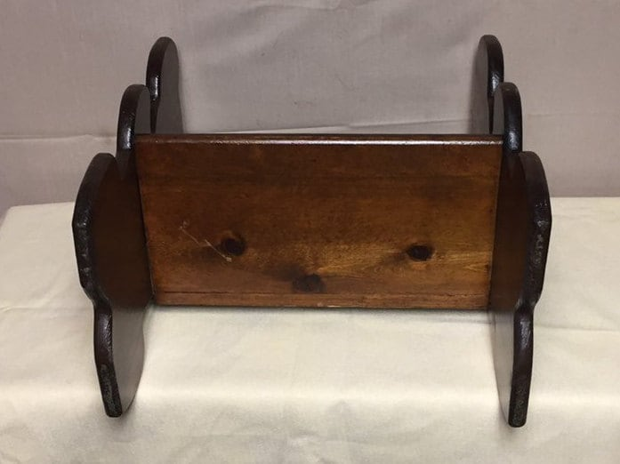 Awesome Vintage Wooden Childs Bench Teddy Bear Bench Doll Bench Inzonedesignstudio Interior Chair Design Inzonedesignstudiocom
