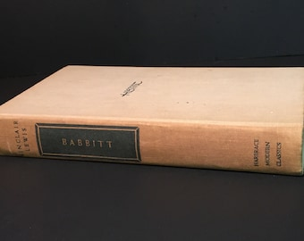 Babbitt by Sinclair Lewis, Copyright 1950, Harcourt, Brace and Company, Inc.
