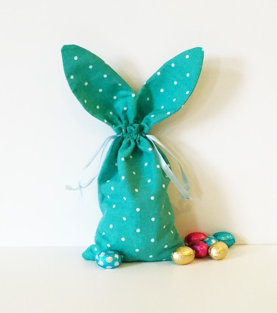 Bunny Ears Drawstring Bag Sewing Pattern PDF File