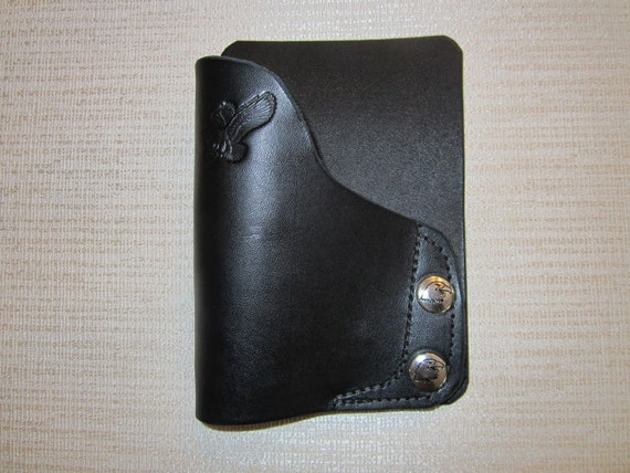 Fits Sig P938 Iwb BROWN leather formed holster with body shield Braids Holsters