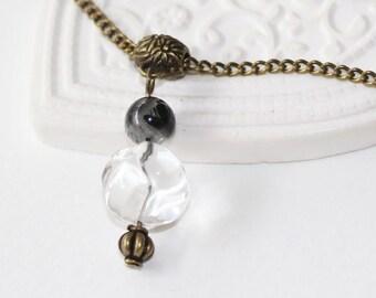 e4a6736e5bf Collier cristal de roche