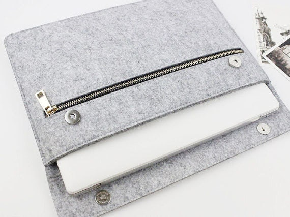 Felt 2018 Macbook Pro 13 Sleeve, Macbook Pro 13 Case, 2018 New Macbook Air 13.3 Case, Laptop Case, 13 Inch Laptop Sleeve, Macbook Case 013 Lg by Etsy