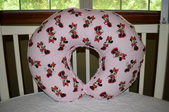 Boppy Pillow Cover M W Pink Minnie Mouse Cotton Amp Pink