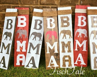 ec8605621f5f Bama Home Sign - Roll Tide Sign - RTR - Alabama Football - Elephant Home  Sign - Roll Tide Wooden Sign - Bama Wood Sign -Roll Tide Wall Decor