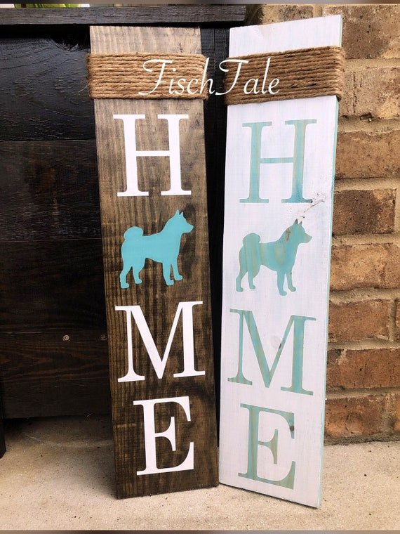 Rat Terrier Wood Welcome Outdoor Sign Red//White