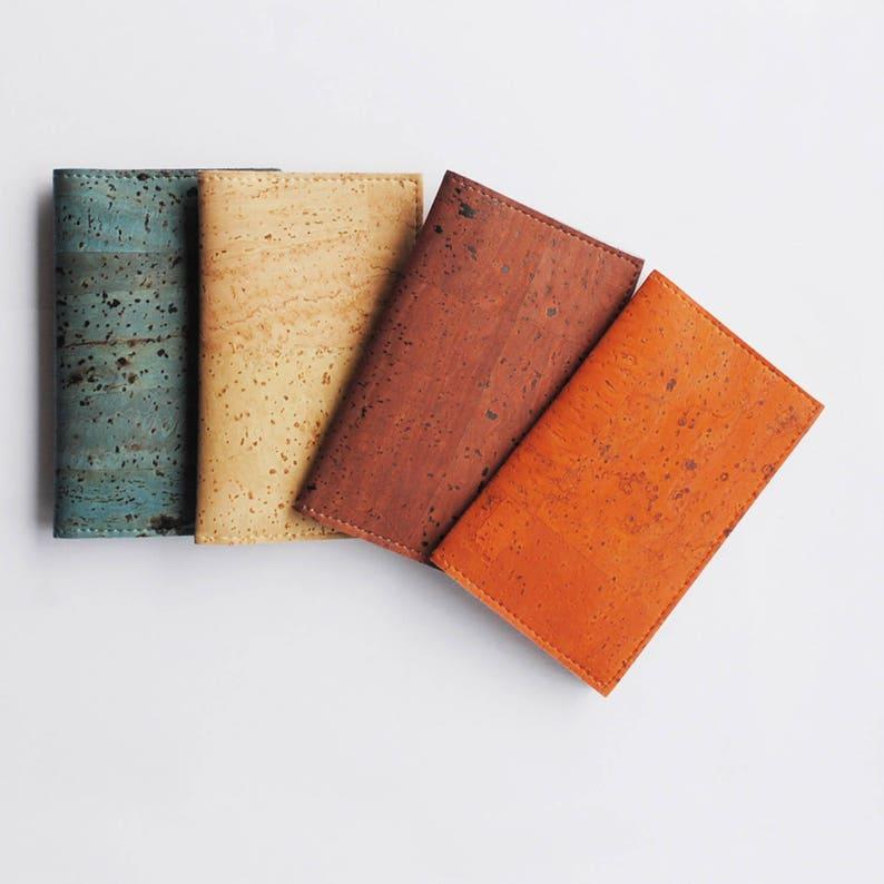 Vegan Cork Leather Slim Cardholder image 0
