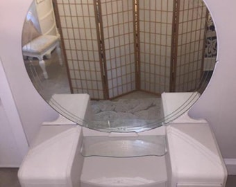 Up for Sale! vanity Ready to be customized  just for you! Ornate vanity & Mirror