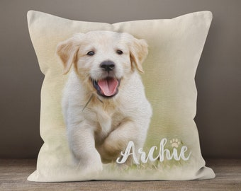 26b1ad3e0446 Pet Memorial Pillow, Pet Loss Gift, Custom Pet Pillow, Dog Mom Gift