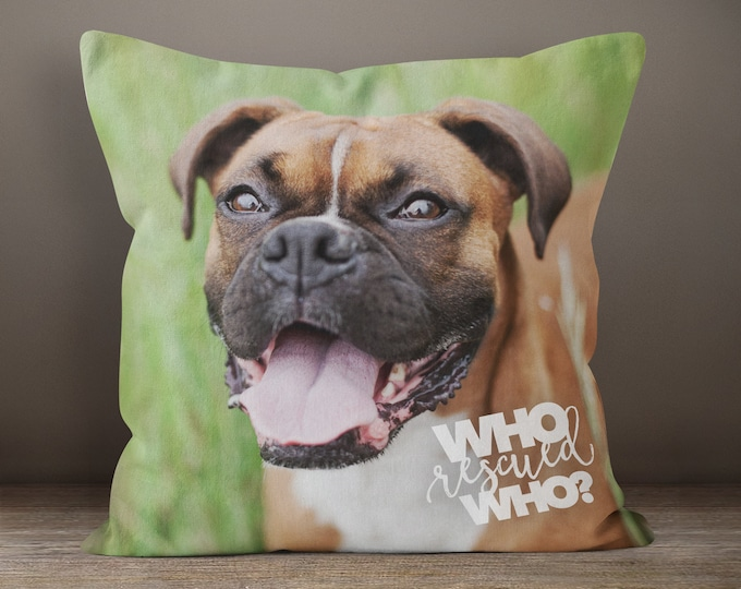 88d7cd291938 Pet Loss Pillow, Dog Memorial Gift, Custom Pet Pillow, Custom Dog Gift