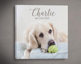 Pet Memorial Print, Dog Memorial Gift, Pet Loss Gift, In Memory Of Dog